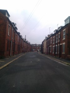 Garnet Grove, now demolished, one of the potential sites for new council housing